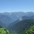 070812ブナグラ峠から見る後立山