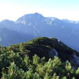 070813猫又山頂からの剱岳