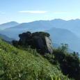 070813猫又山から釜谷山へ