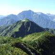 070813釜谷山からの剱岳