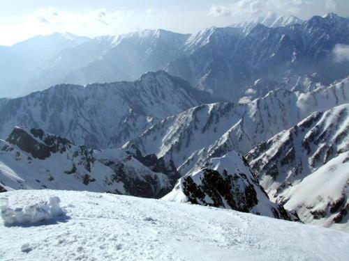 070505_剱岳山頂から南東の眺望