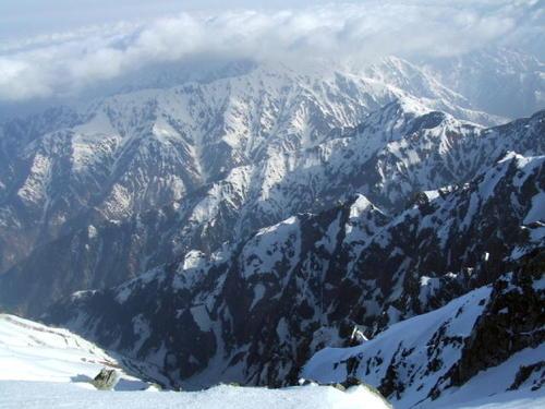 070505_剱岳山頂から北側の眺望