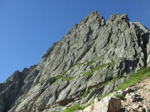 憧れの岩壁「チンネ」