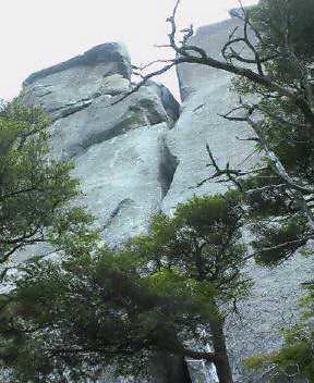 大ヤスリ岩ハイピークルート