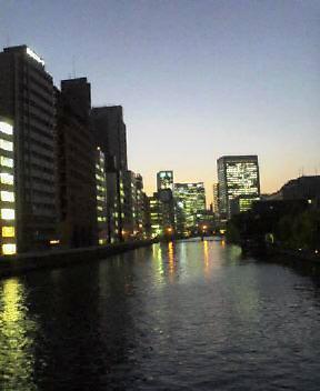 水の都の夕暮れ